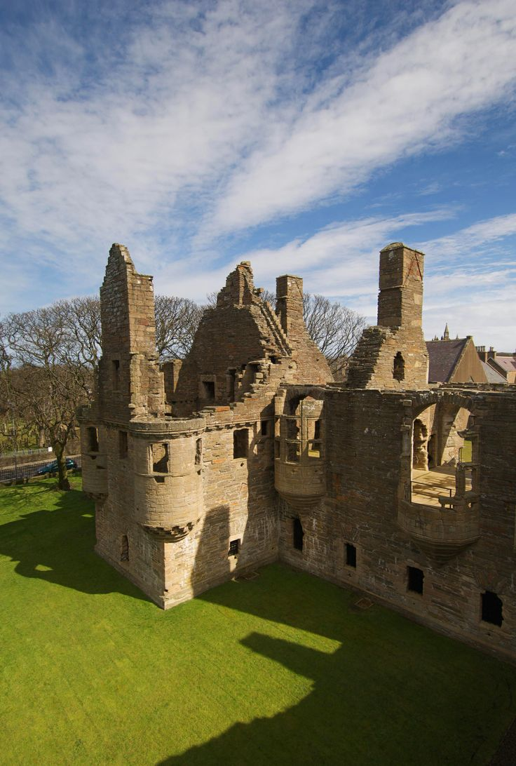 Bishop's and Earl's Palaces Orkney and Shetland Islands, 169 best Scotland - Orkney Islands images on Pinterest   Orkney ...