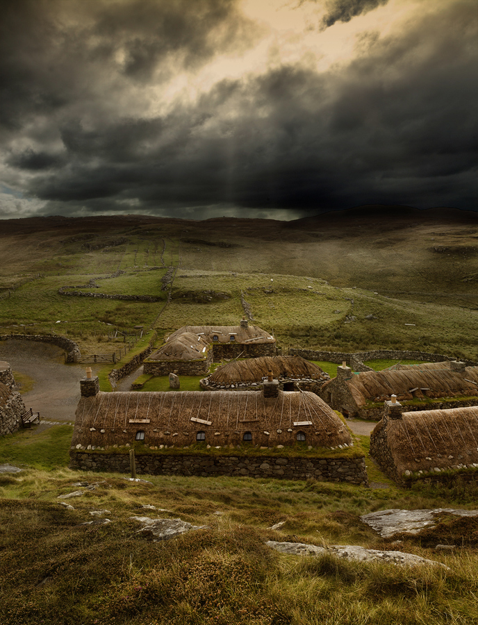 Black House The Northern Highlands and the Western Isles, The Blackhouse Village on the Isle of Lewis, Scotland. | Scotland ...