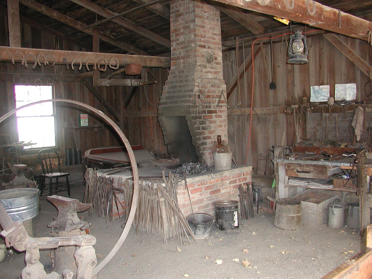 Blacksmith's Shop The Borders and the Southwest, Brick Forge   Blacksmith Shop   Pinterest   Blacksmithing