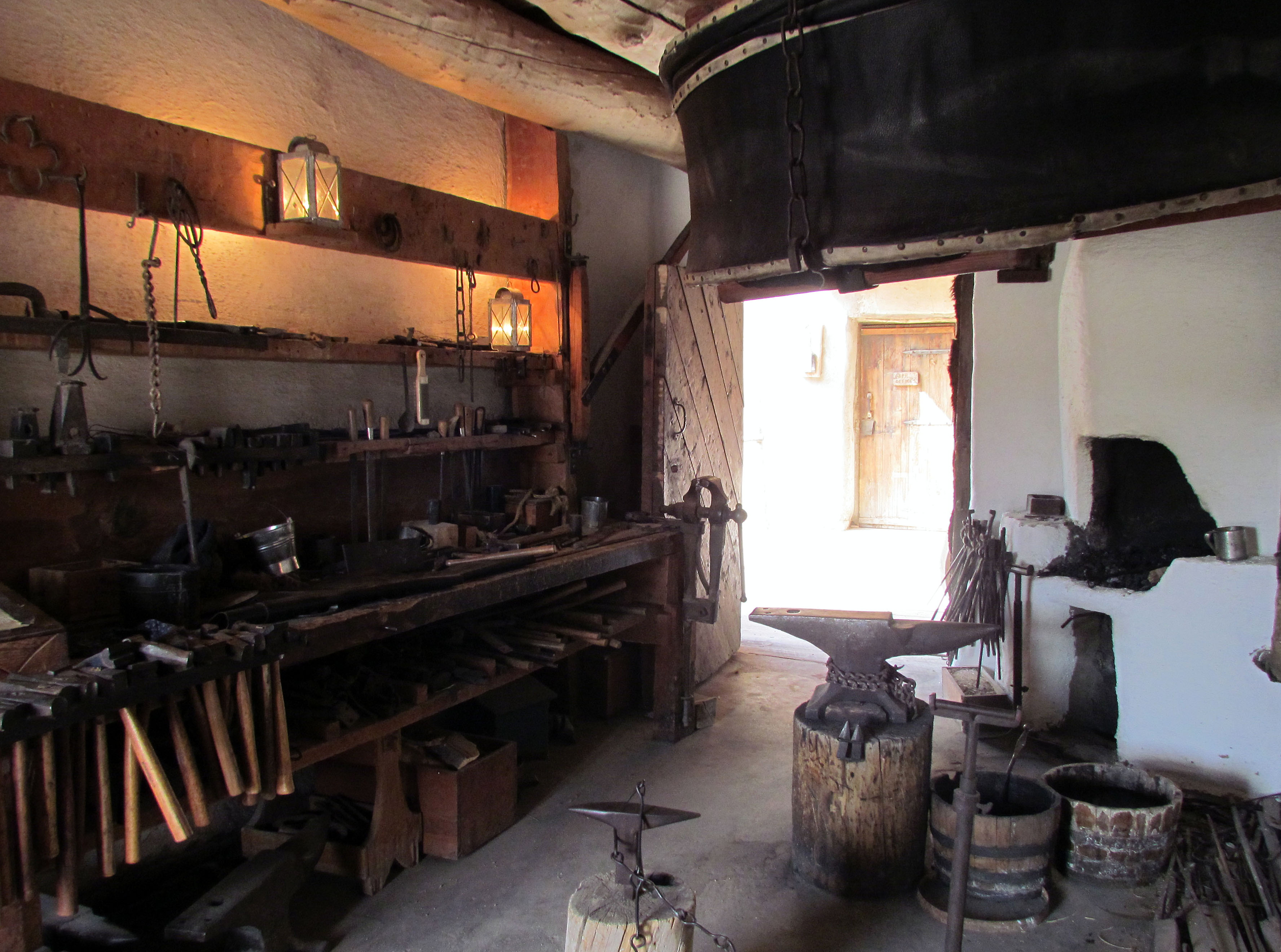 Blacksmith's Shop The Borders and the Southwest, Bent's Old Fort   here2where