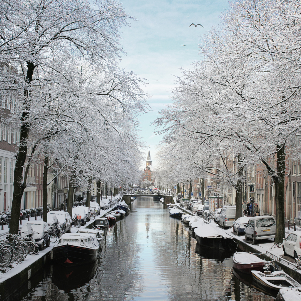 Bloemgracht Amsterdam, The frosty Bloemgracht of Amsterdam | © all rights reserved … | Flickr