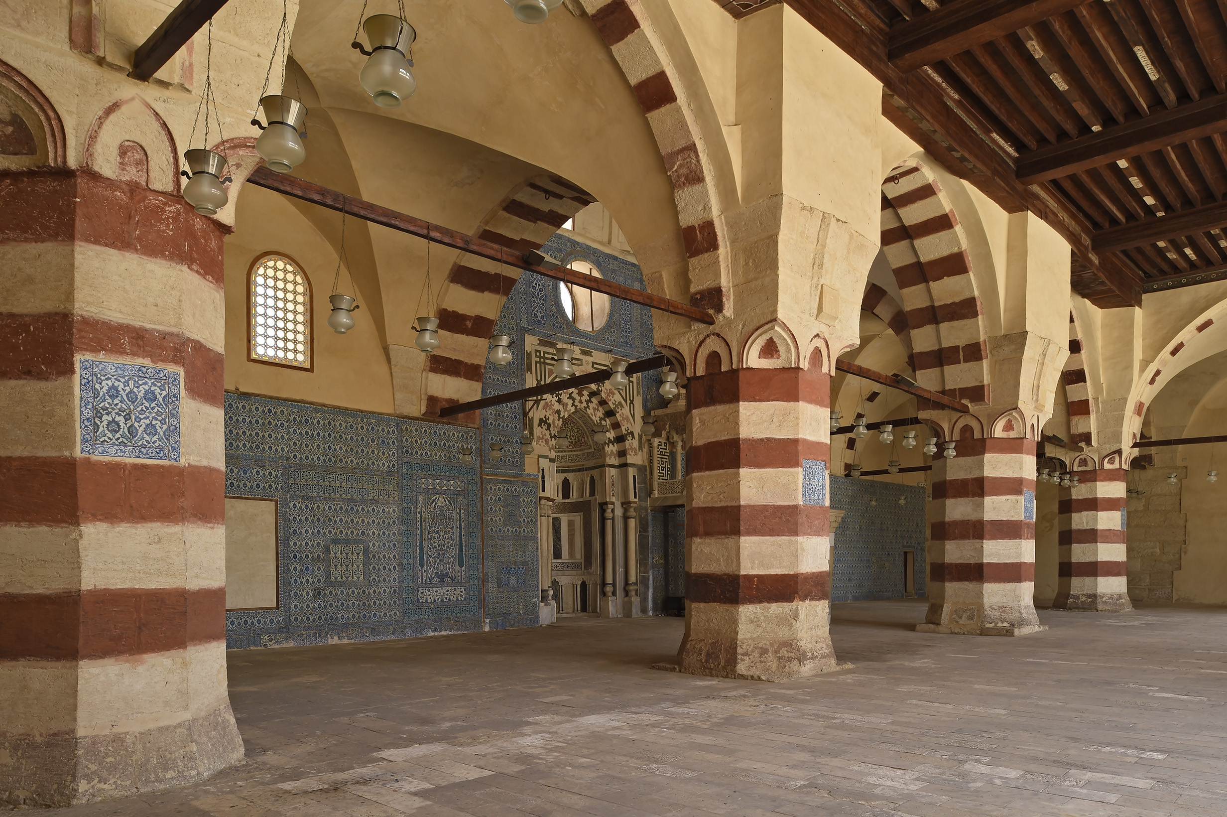 Blue Mosque Cairo, The Blue Mosque of Cairo restored by the Aga Khan Trust for ...