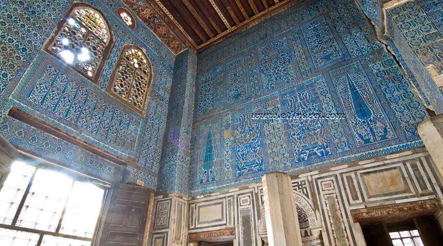 Blue Mosque Cairo, Blue Mosque is called also Aqsunqur Mosque or the Mosque of ...