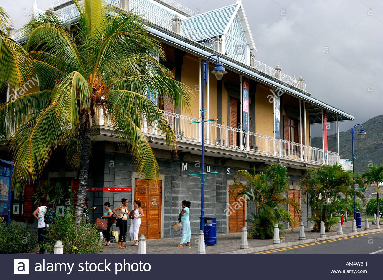 Blue Penny Museum Port Louis, Mauritius island, Port-Louis, Blue Penny Museum in the Caudan ...