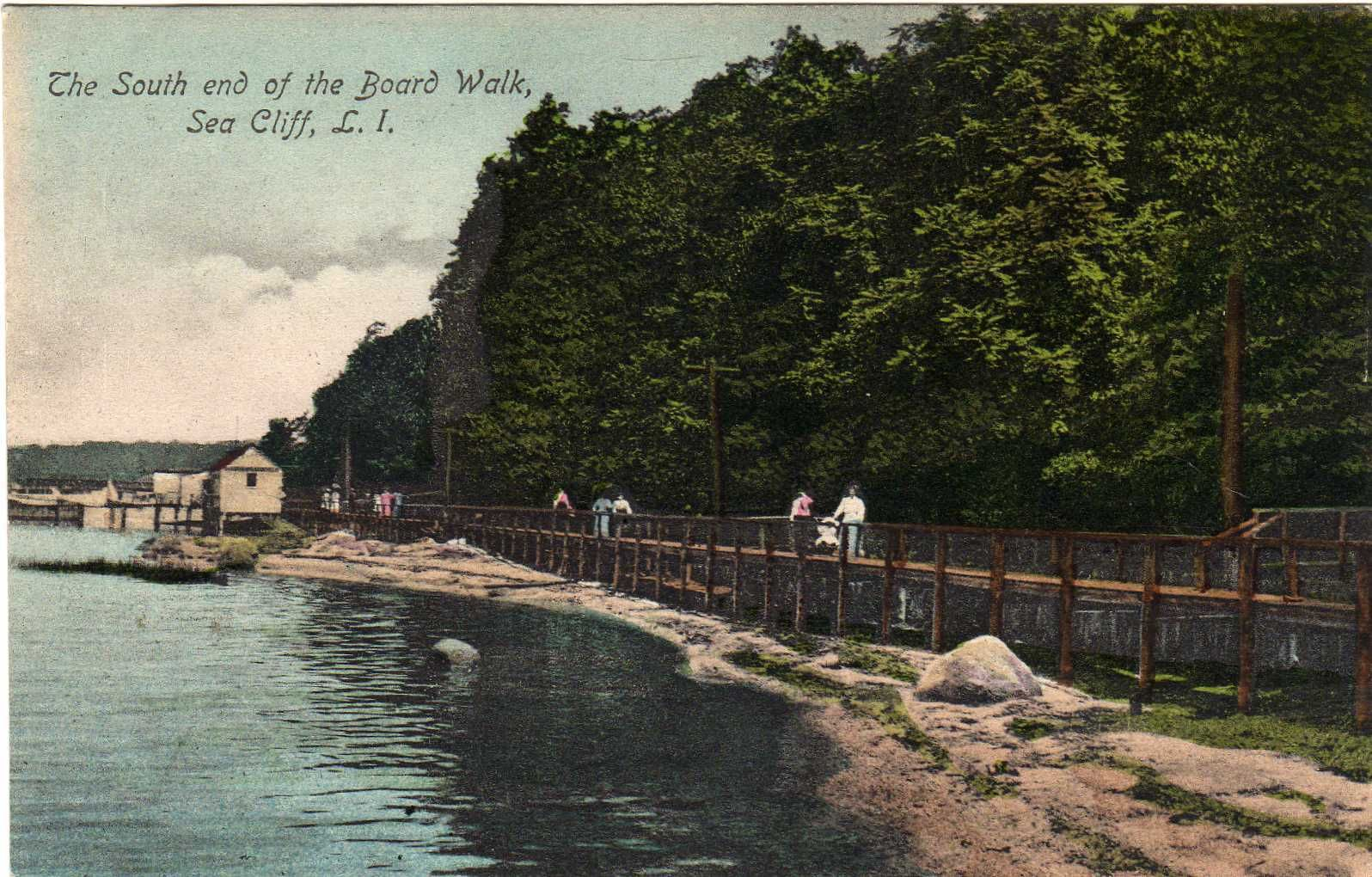 Blue Point Brewing Company Long Island, The South End of The Boardwalk Sea Cliff Long Island NY   eBay ...