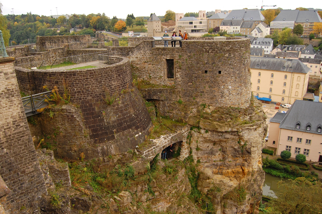 Bock Casemates Luxembourg City, World Travels » Luxembourg