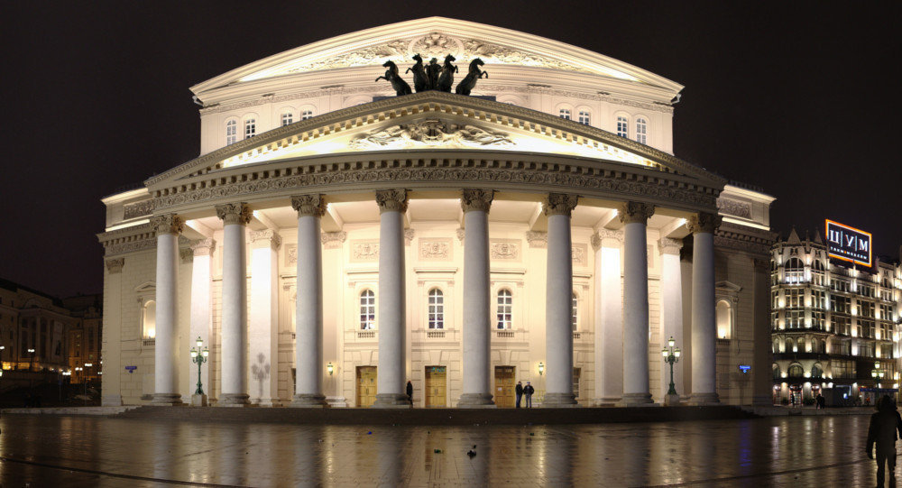 Bolshoi Theatre Moscow, Bolshoi Theatre Playing Role of Russia's 'Cultural Ambassador' to ...