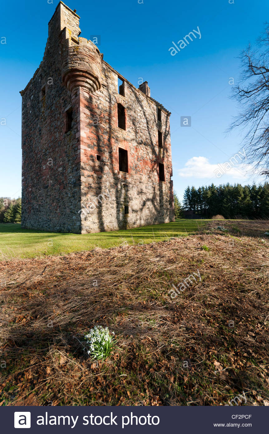Borders Textile Towerhouse The Borders and the Southwest, L Plan House Stock Photos & L Plan House Stock Images - Alamy