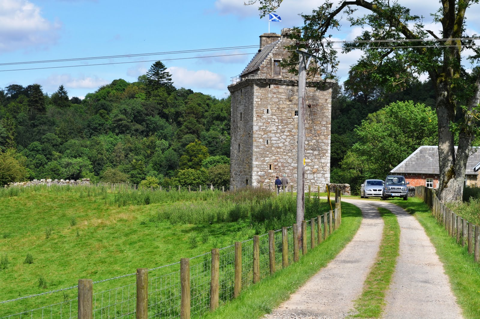 Borders Textile Towerhouse The Borders and the Southwest, Border-Reiver-History-Hollows-Tower-in-the-Debateable-Land ...