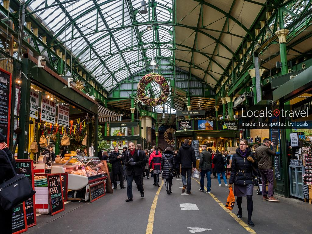 borough market london england