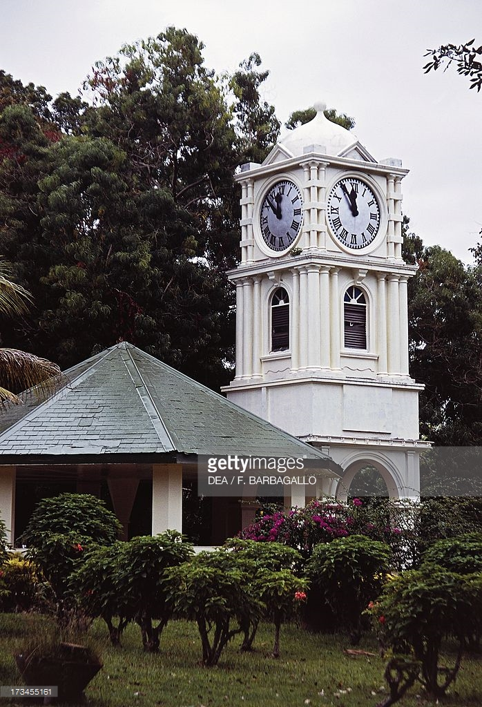 Botanical Garden Suva, The clock tower in botanical garden Pictures | Getty Images