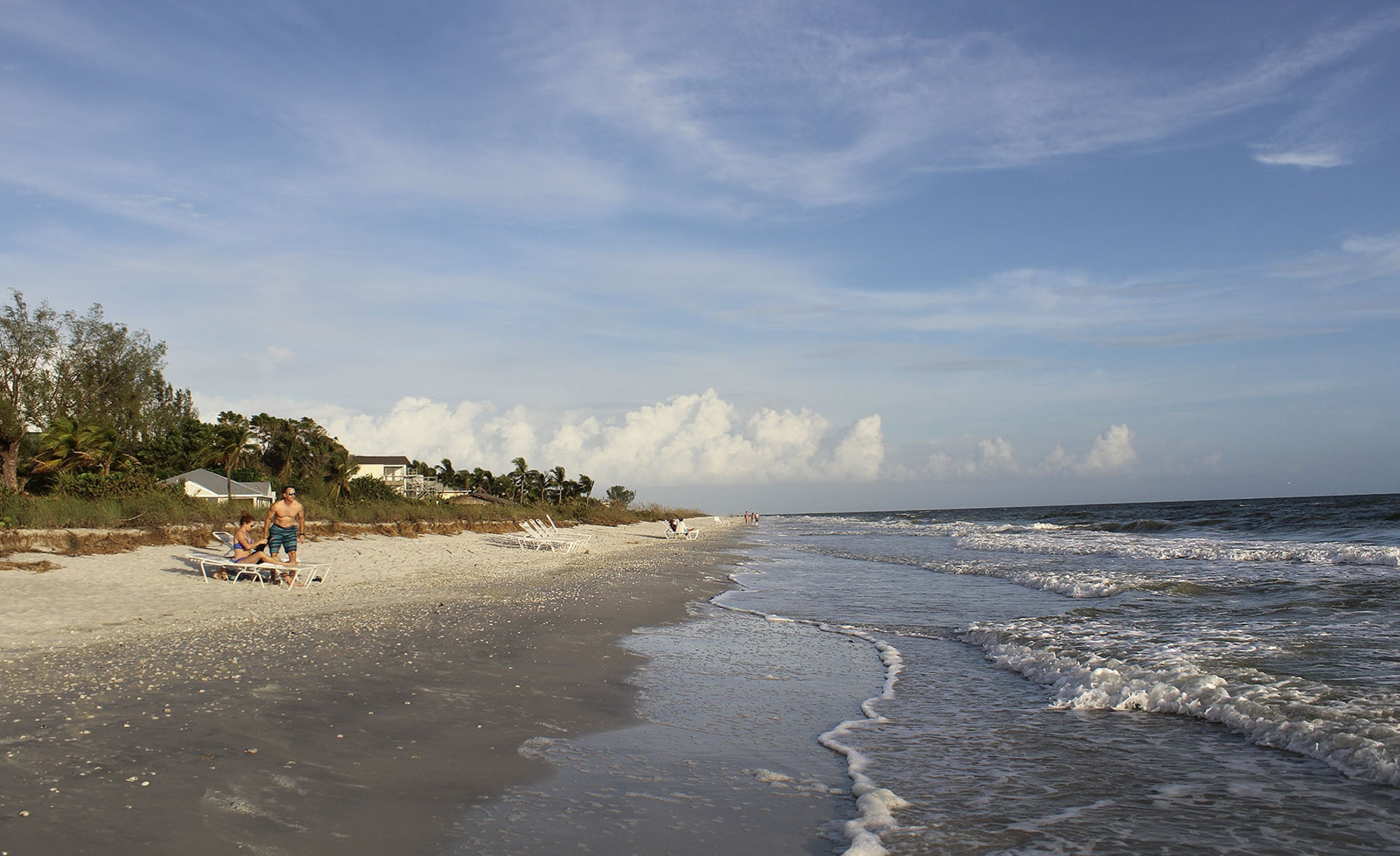 Bottle Museum The Gulf Coast Beaches, Months after hurricane hit Florida, this winter getaway for ...