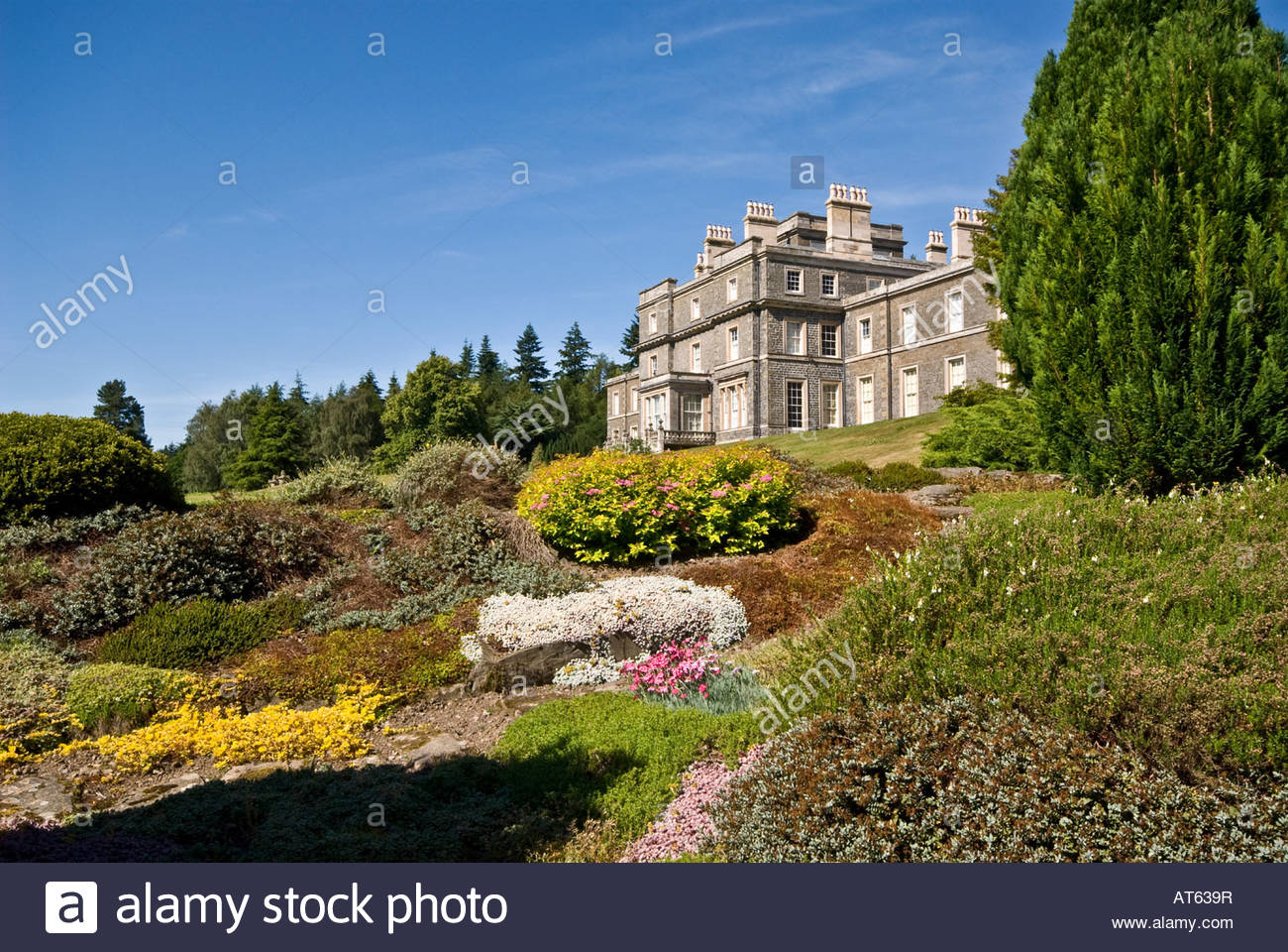 Bowhill The Borders and the Southwest, Bowhill House nr Selkirk Scottish Borders Stock Photo, Royalty ...