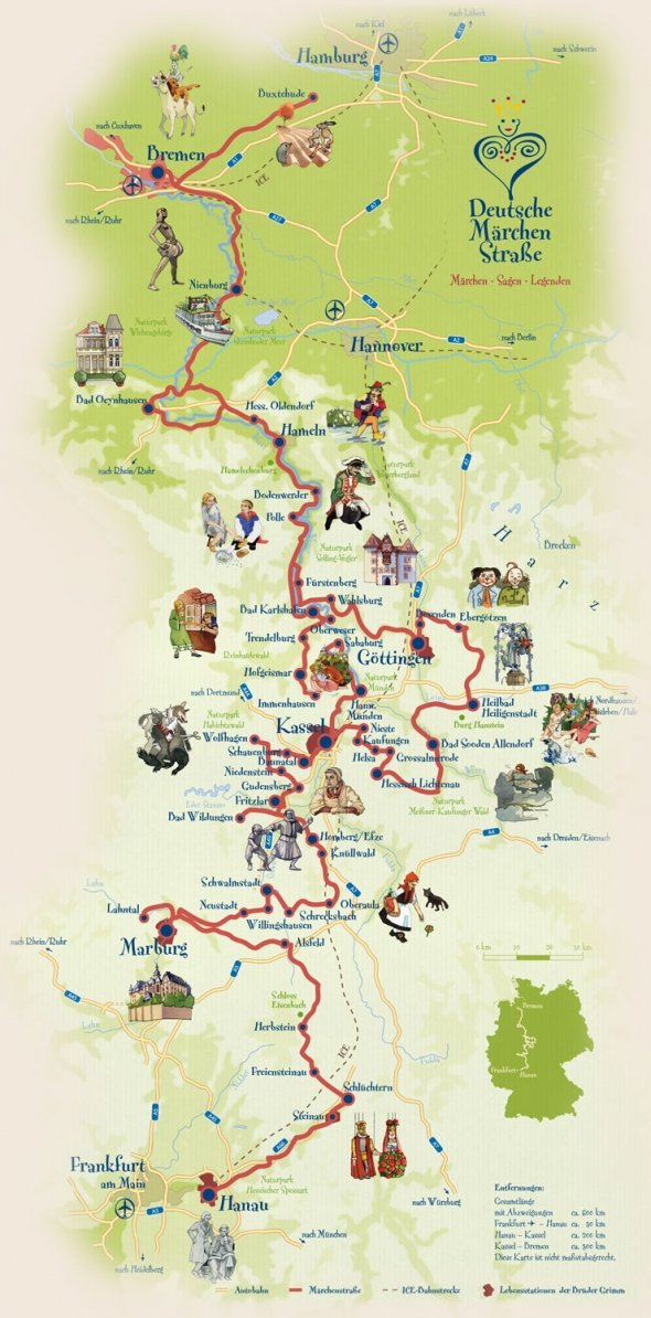 Brüder Grimm Haus and Museum Steinau The Fairy-Tale Road, Enchanting German towns of the Grimm fairy tales | The grimm ...