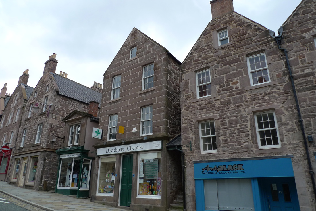 Brechin Town House Museum Fife and Angus, A Steam Railway, a Stately Home and a Round Tower. A Cycling Trip ...