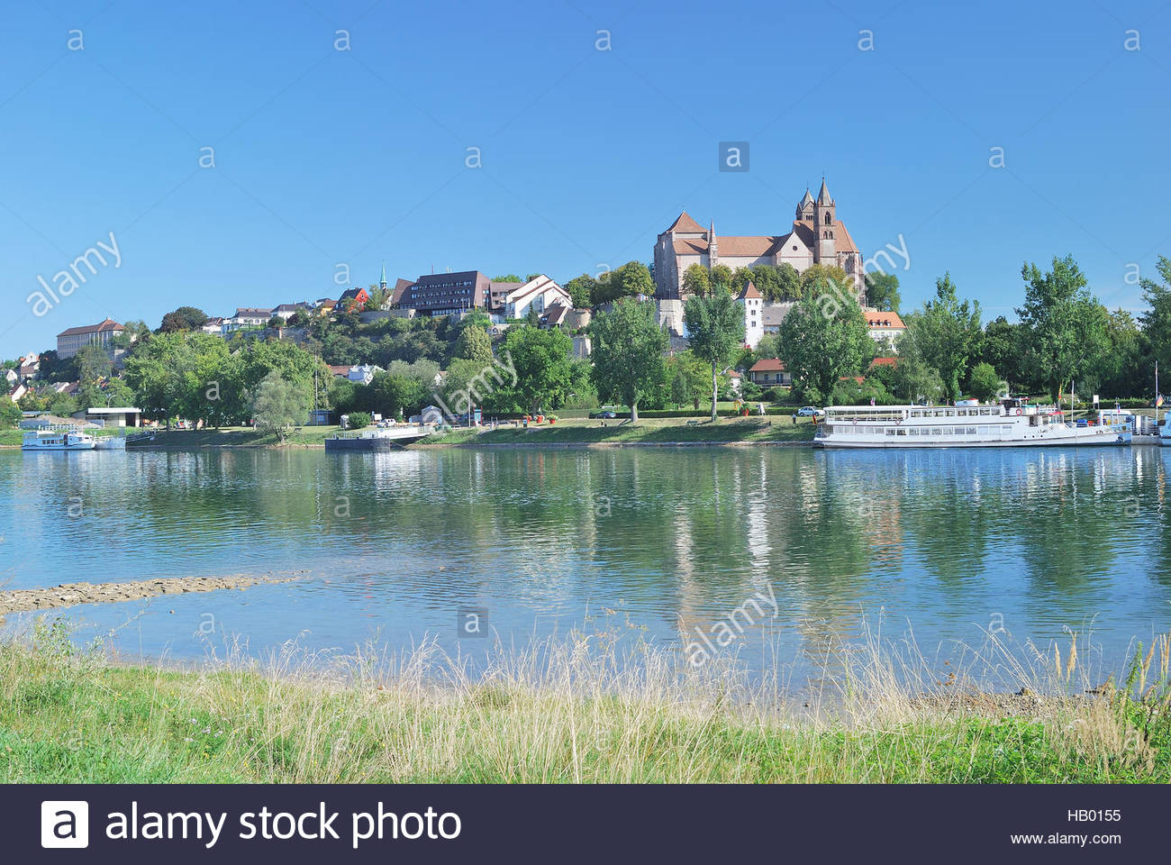 Breisach am Rhine The Black Forest, Breisach at Rhine River,Black Forest,Germany Stock Photo, Royalty ...