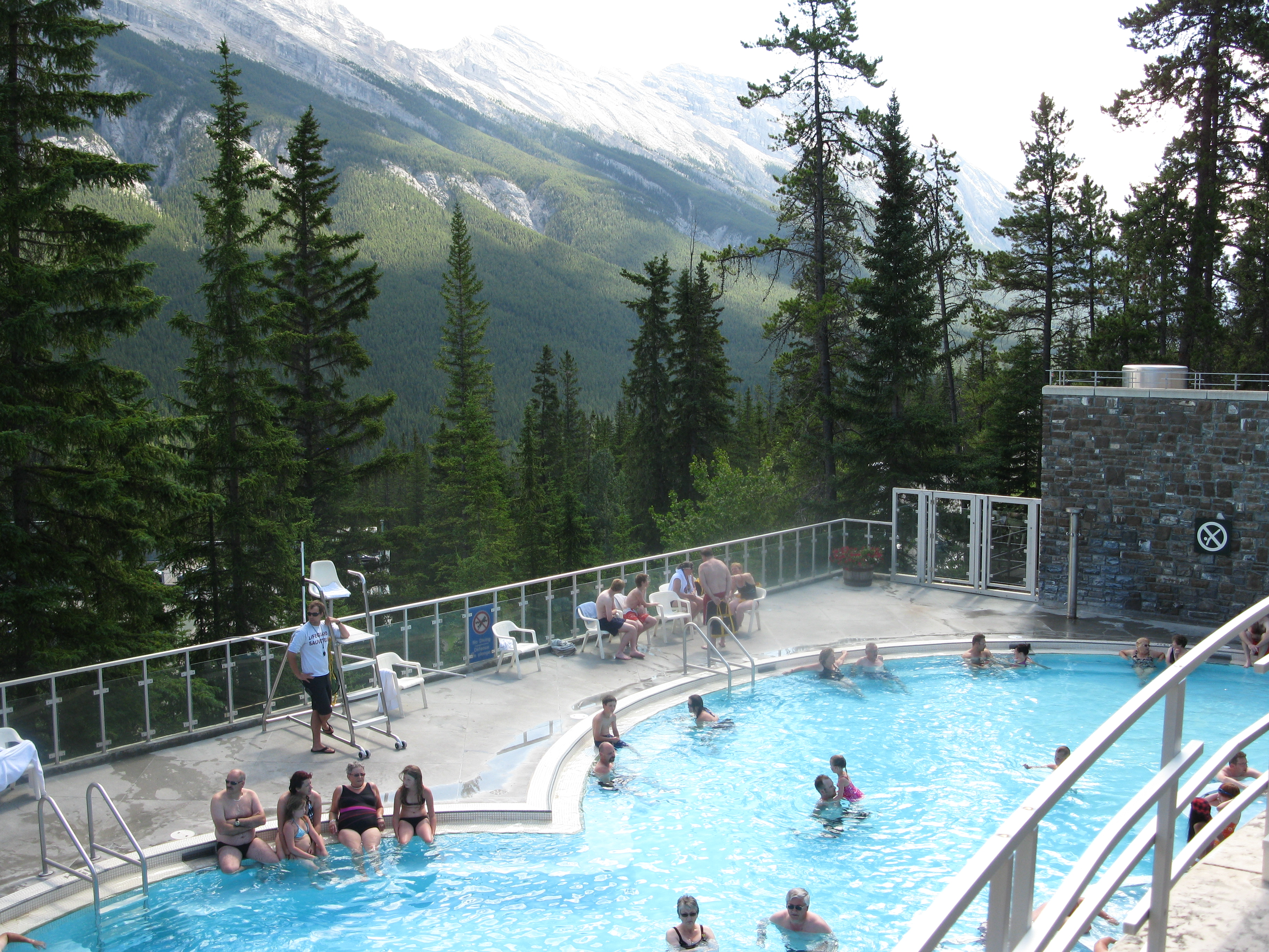 Brewster Attractions Banff National Park, Banff Upper Hot Springs | Ray's Well