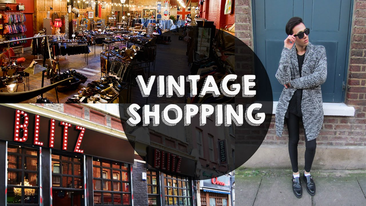 Brick Lane London, Vintage Shopping in Brick Lane / London - YouTube
