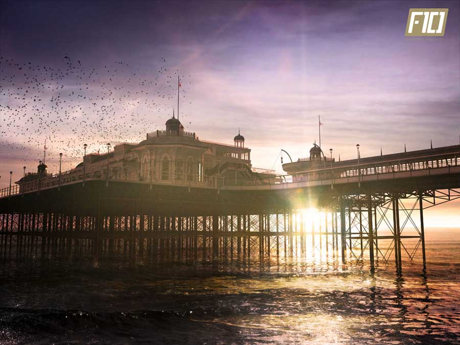 Brighton Pier The Southeast, Brighton Pier Architecture, Building, Sussex - e-architect