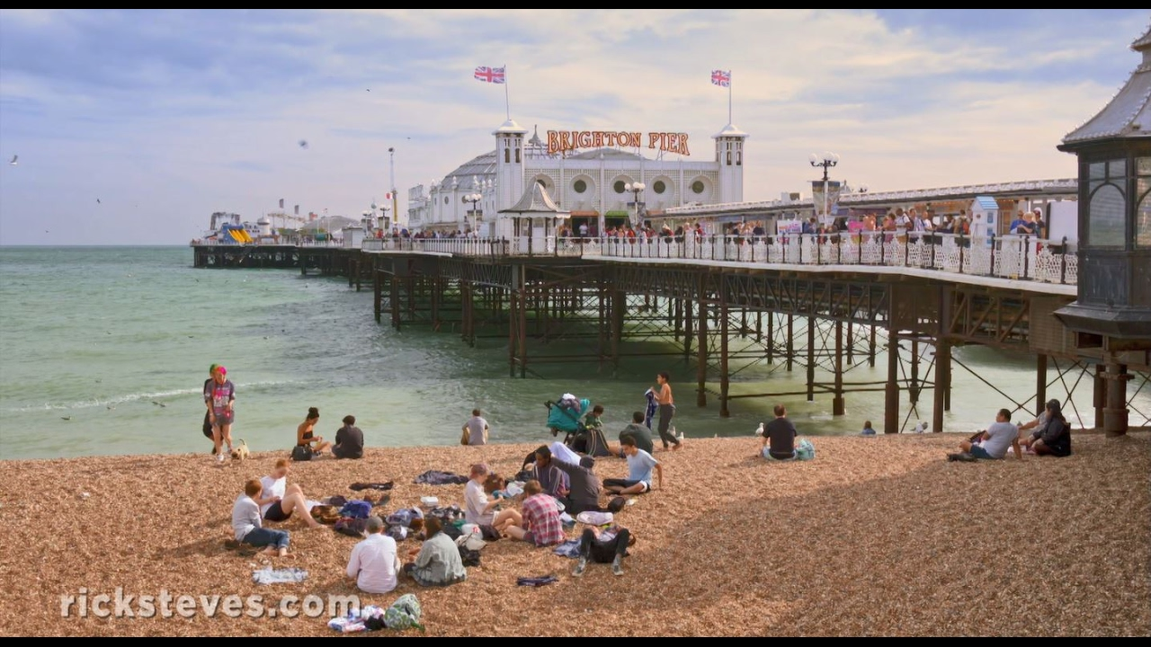 Brighton Pier The Southeast, Brighton, England: Royal Pavilion and Pier - YouTube