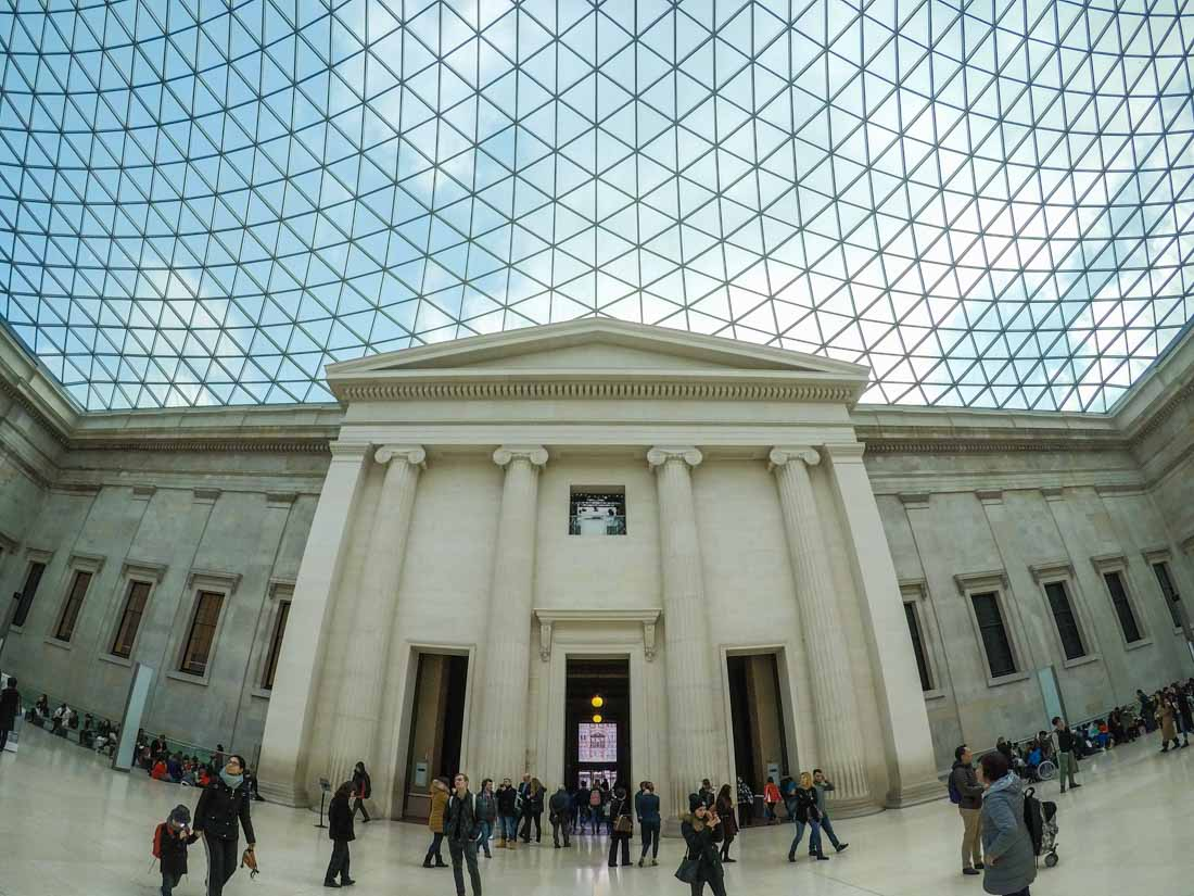British Museum London, The Great Court of The British Museum, London | BaldHiker