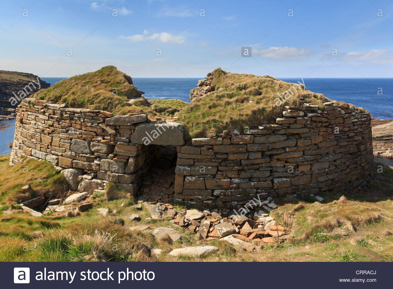 Broch of Gurness (Aikerness Broch) Orkney and Shetland Islands, Broch Orkney Stock Photos & Broch Orkney Stock Images - Alamy