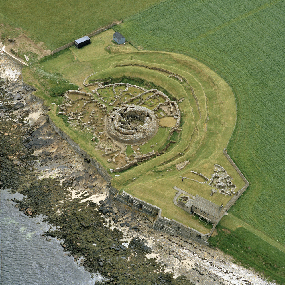 Broch of Gurness (Aikerness Broch) Orkney and Shetland Islands, The World's Best Photos of broch and rcahms - Flickr Hive Mind
