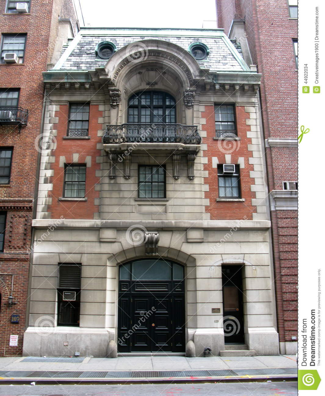 Brooklyn Academy of Music (BAM) New York City, Victorian Carriage House New York City Red Brick Upper East Side ...