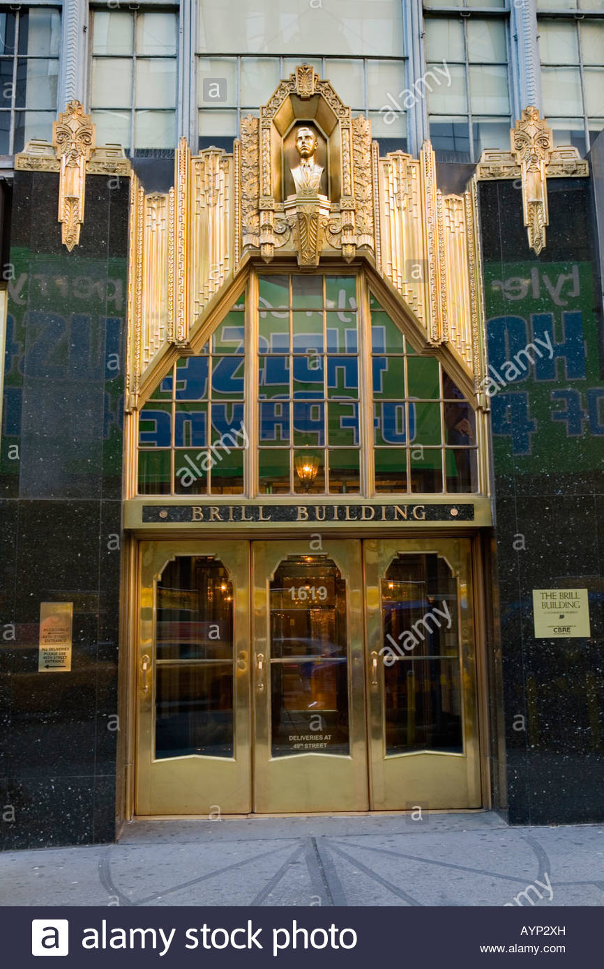 Brooklyn Banya New York City, The Brill Building Theater District New York City Stock Photo ...