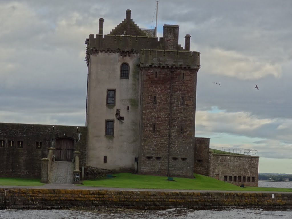Broughty Castle Fife and Angus, Broughty Castle, Broughty Ferry, Dundee, Angus, Scotland. | Mapio.net