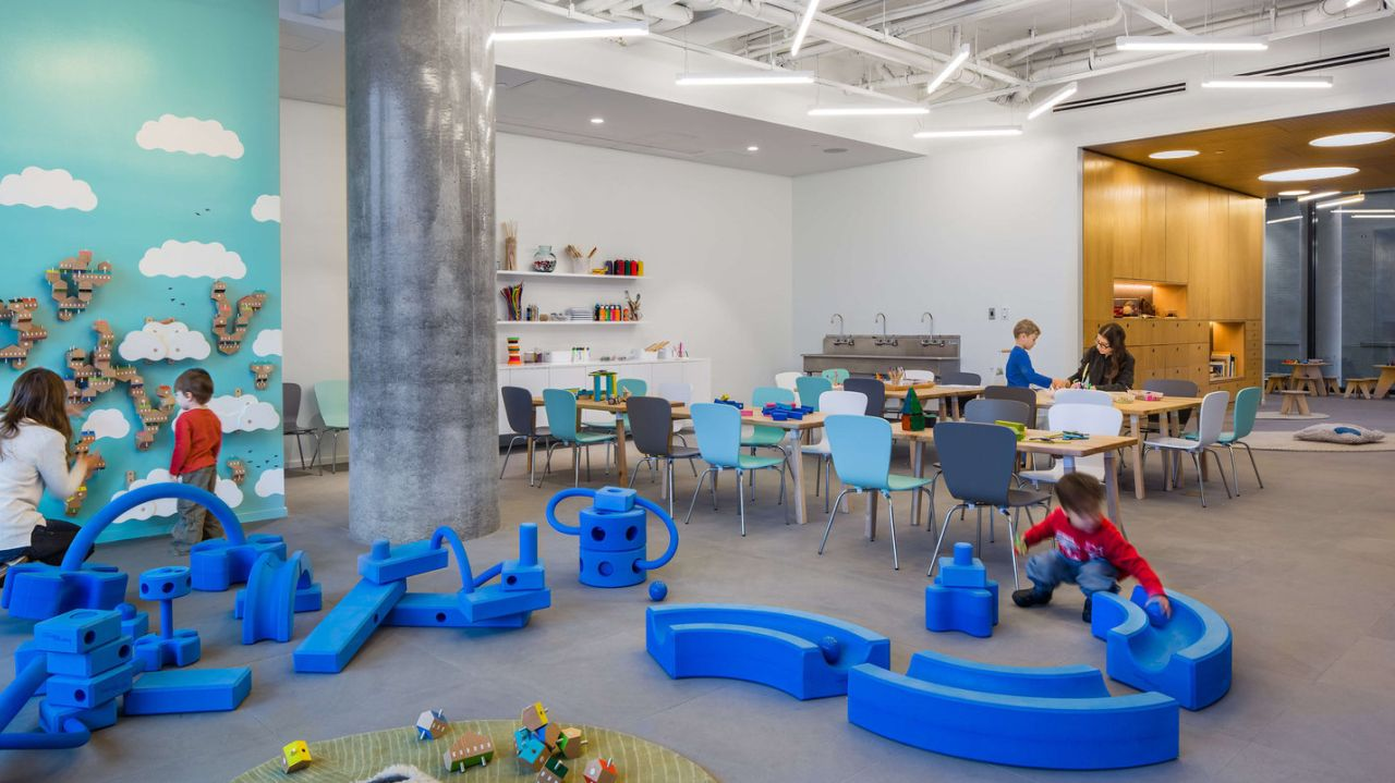 Bryant Park New York City, Brooklyn Children's Museum annex Spark opens in DUMBO | am New York