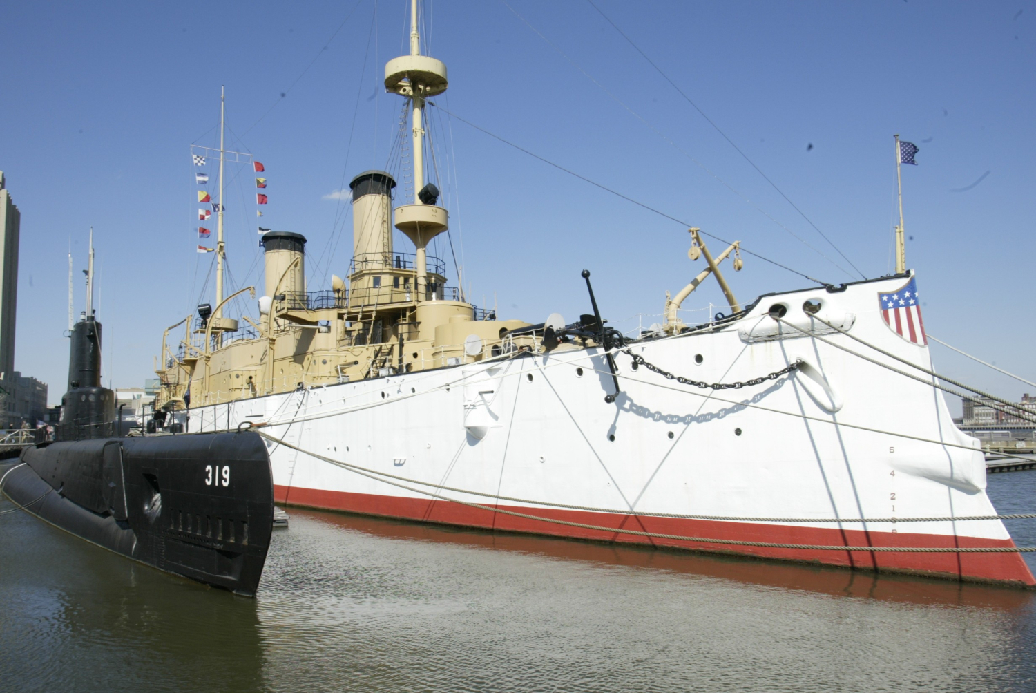 Bryn Mawr College Philadelphia, Work Continues To Save Historic USS Olympia « CBS Philly