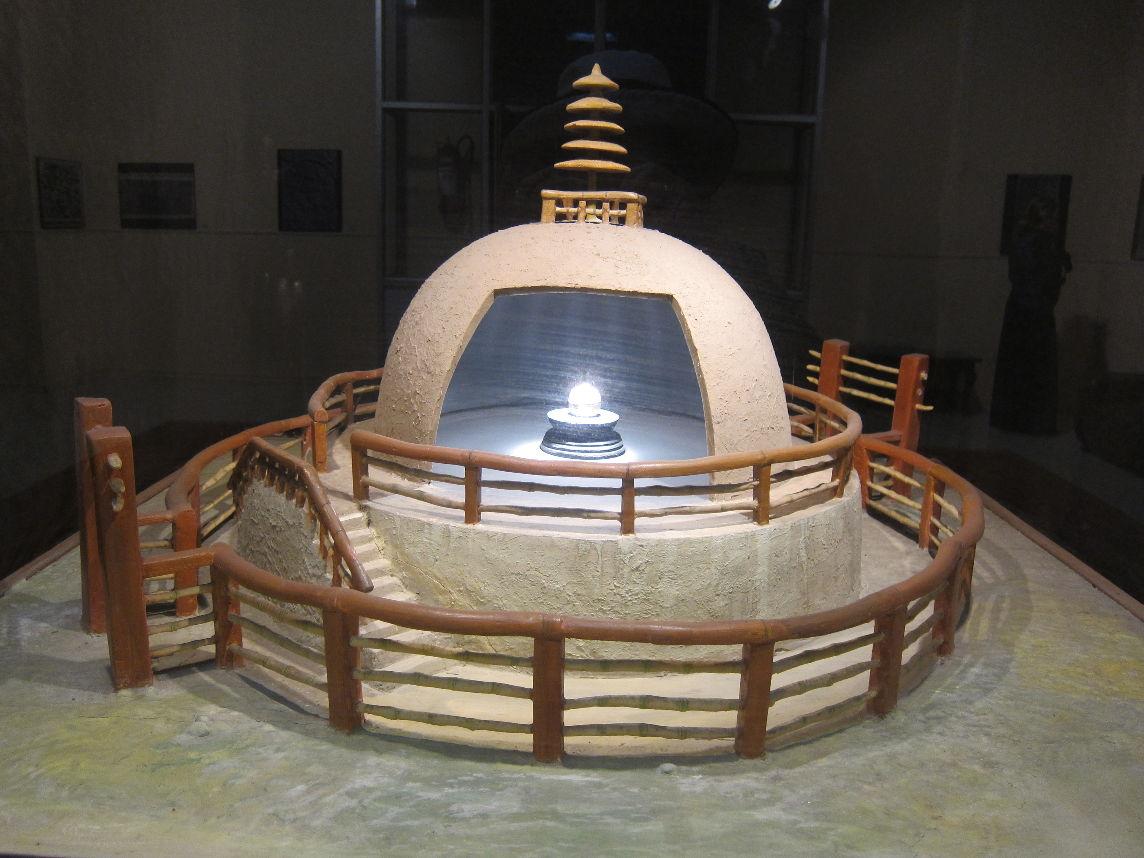 Buddha Relic Stupa Vaishali, PILGRIMAGE 2013: We offer our photos and comments in the hopes ...