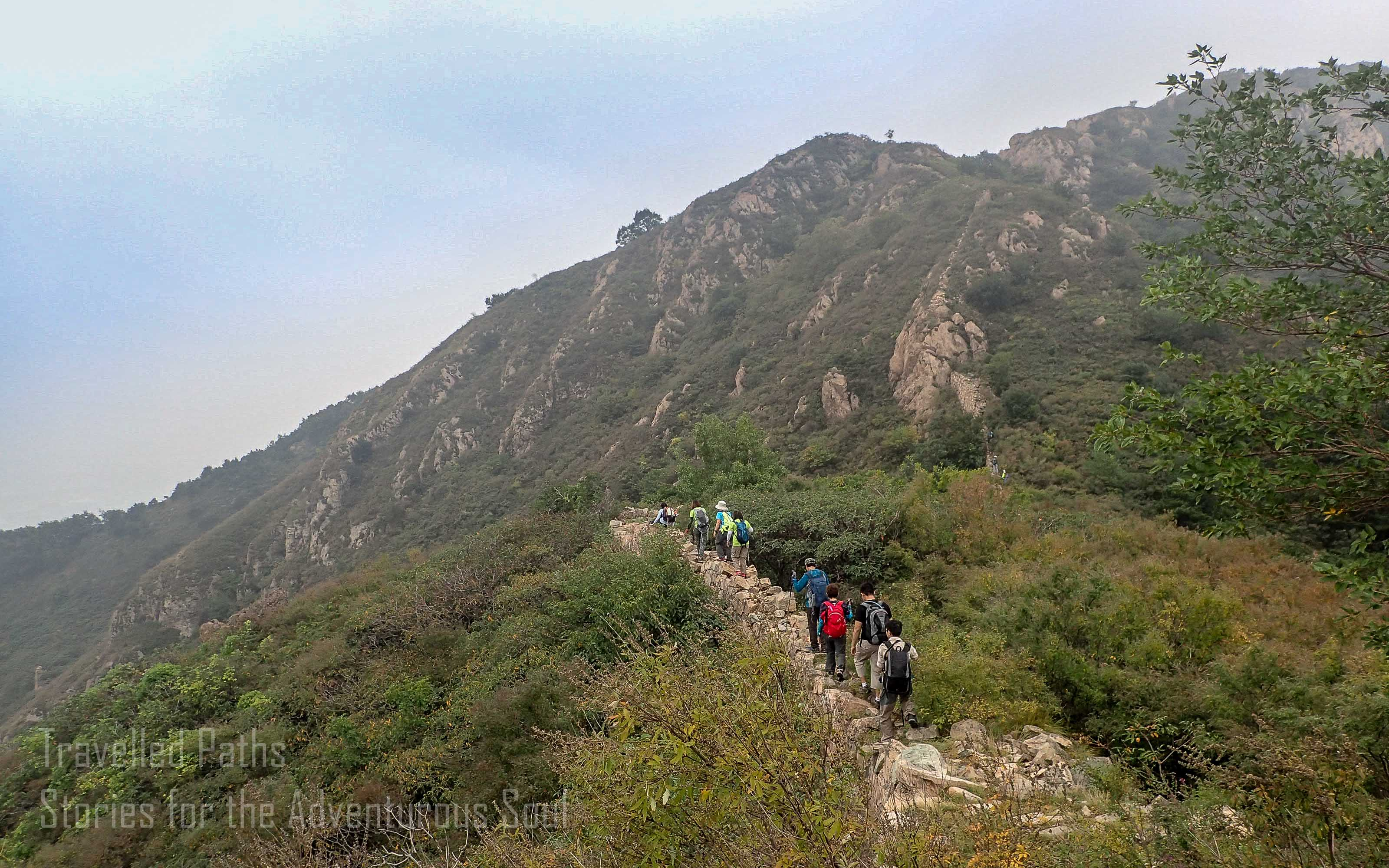 Buddhist Temple of the Sea of Wisdom Běijīng, The Great Wall of China Hike 金秋漫步 – From JiaoShan to SanDaoGuan