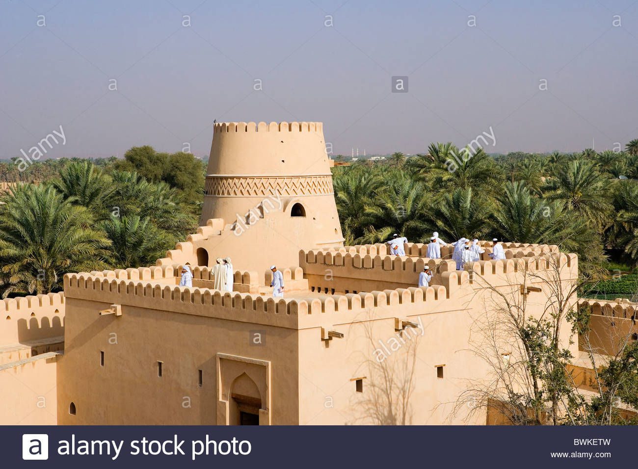 Buraimi Fort Buraimi, Oman Arabia East Buraimi town city Al Khandaq fort fortress castle ...