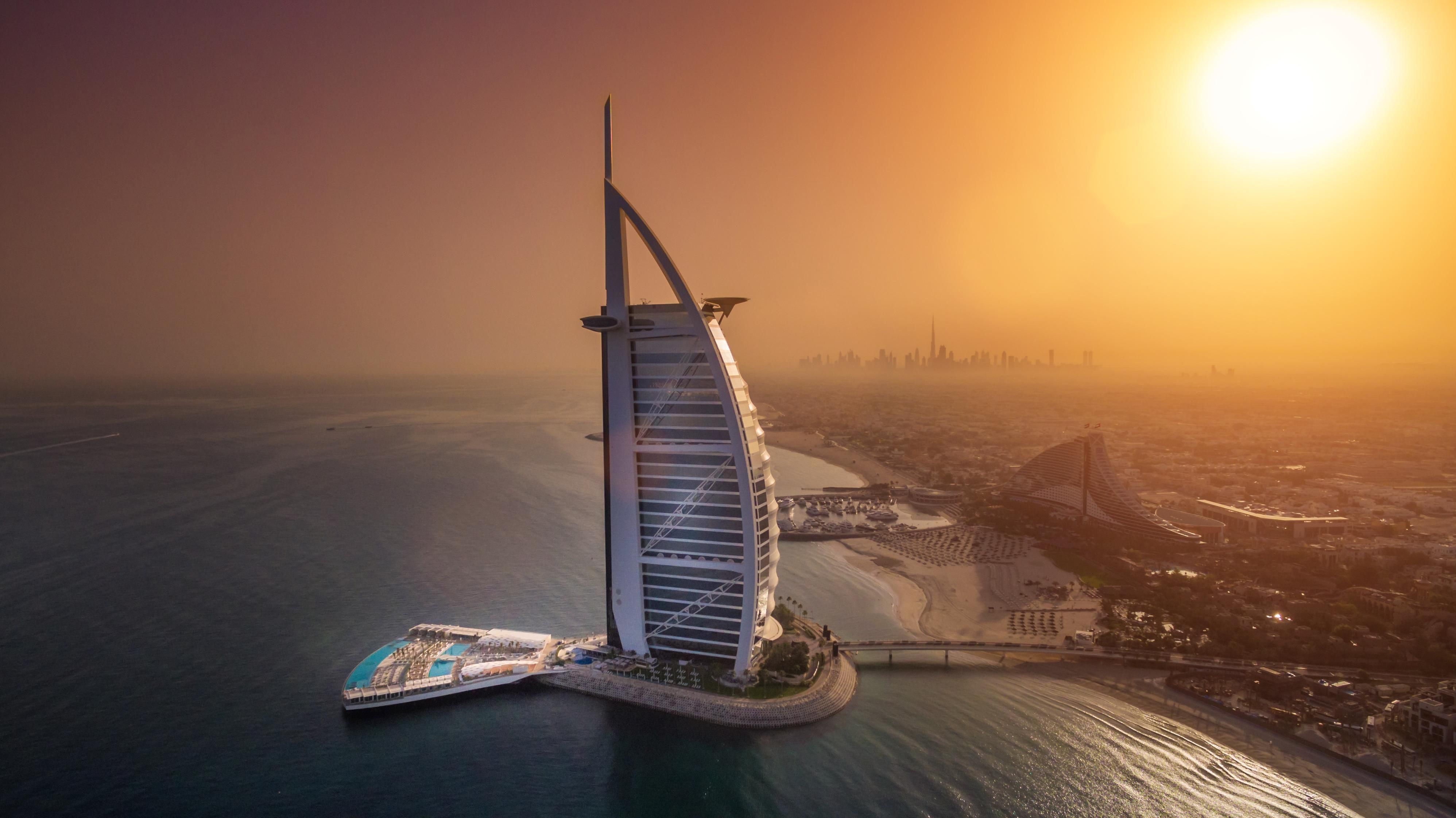 Burj Al Arab Dubai, Burj Al Arab in Dubai Opens Innovate Luxury Outdoor Terrace
