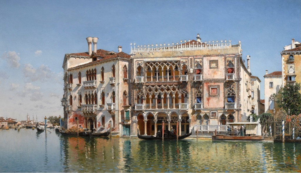 Ca' d'Oro Venice, The Ca d'Oro, Venice jigsaw puzzle in Piece of Art puzzles on ...