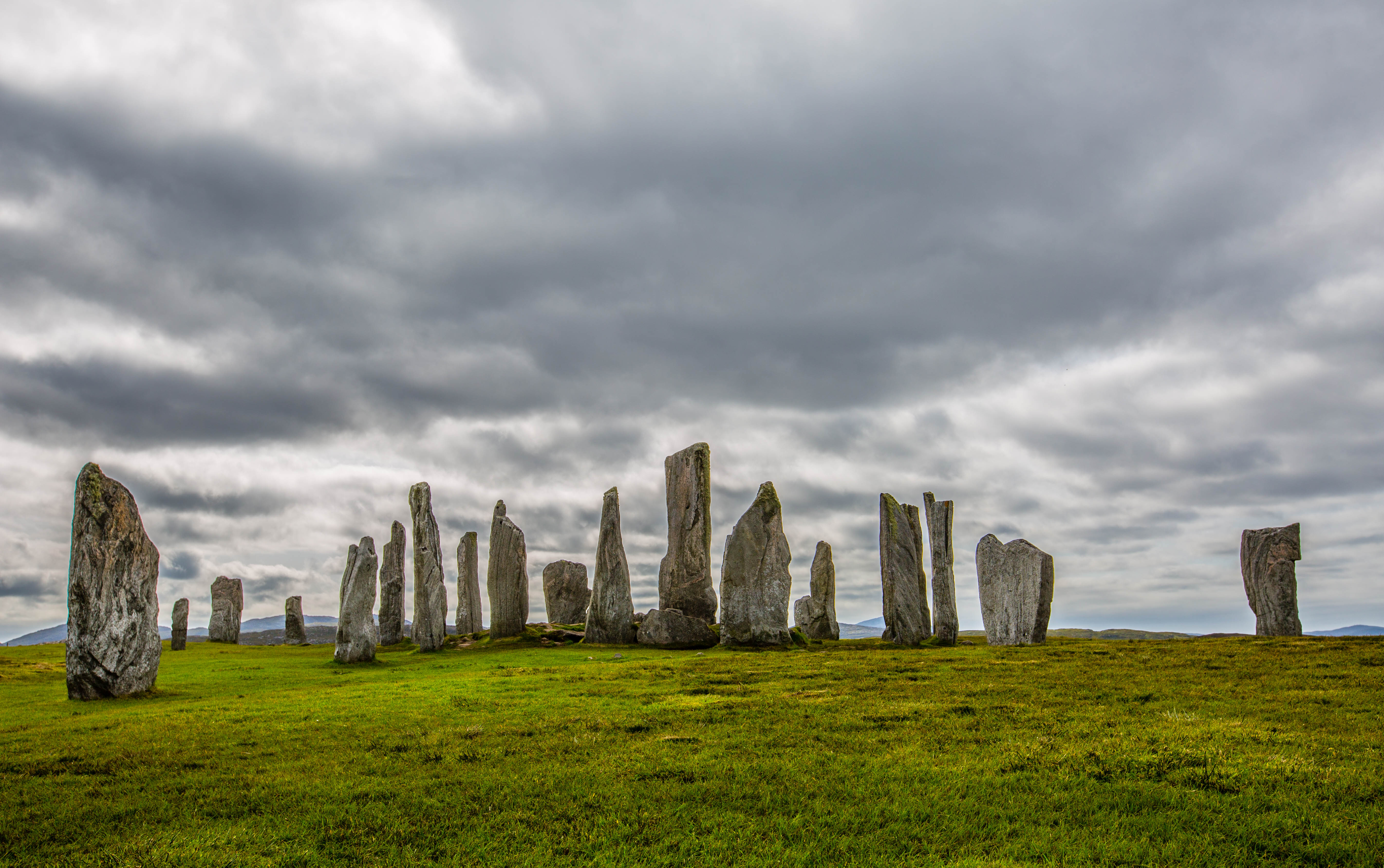 Calanais Standing Stones The Northern Highlands and the Western Isles, The Magnificent Standing Stones of Calanais in the Outer Hebrides ...