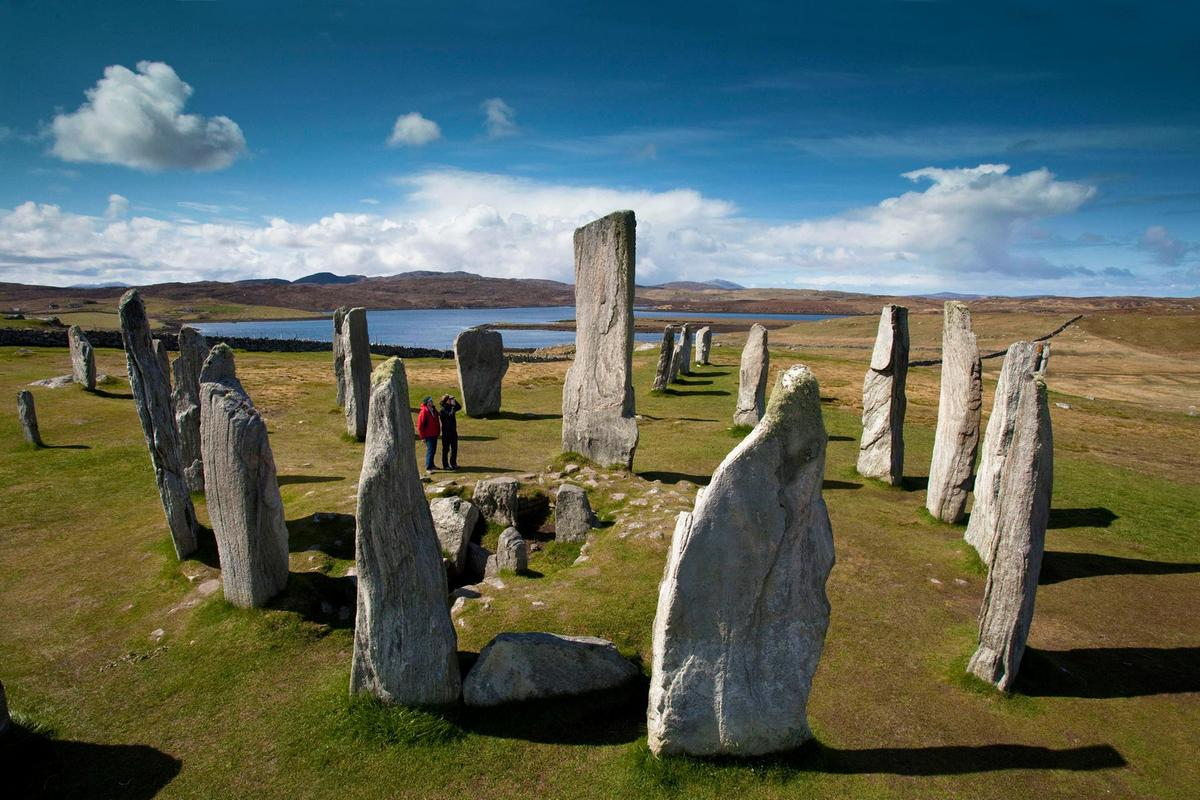 Calanais Standing Stones The Northern Highlands and the Western Isles, Standing Stones & Stone Circles in Scotland   VisitScotland