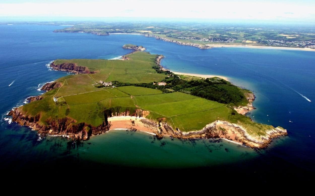 Caldey Island South Wales, Father commits 'crime of the century' after disciplining son ...