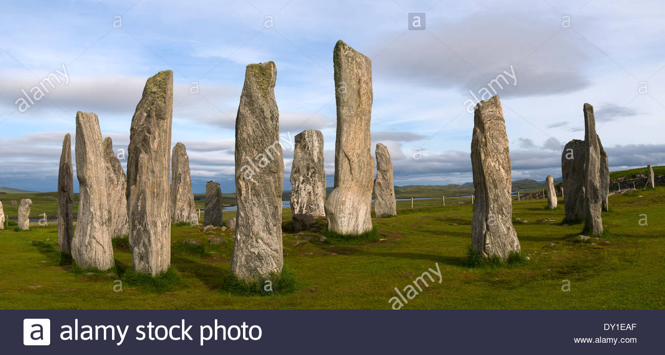Callanish Standing Stones Callanish (Calanais), The Standing Stones of Callanish (Calanais), Isle of Lewis ...
