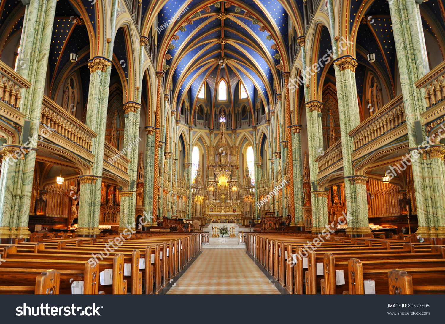 Canada Science & Technology Museum Ottawa, Interior Notredame Cathedral Basilica Ottawa Ontario Stock Photo ...