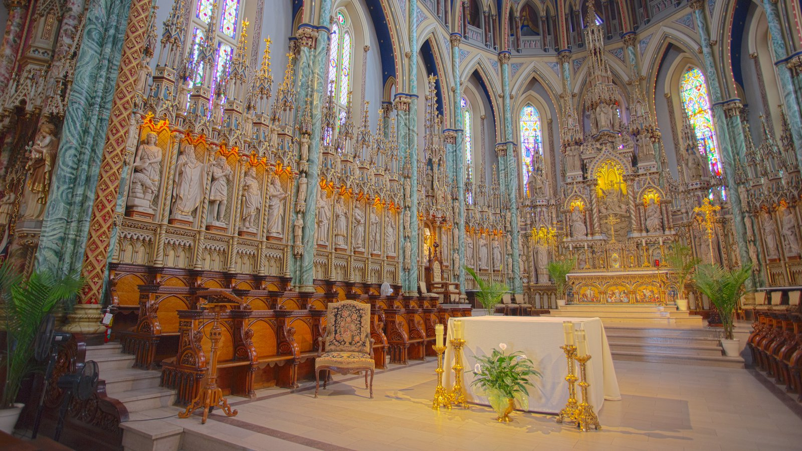 Canada Science & Technology Museum Ottawa, Religious Pictures: View Images of Notre-Dame Cathedral Basilica