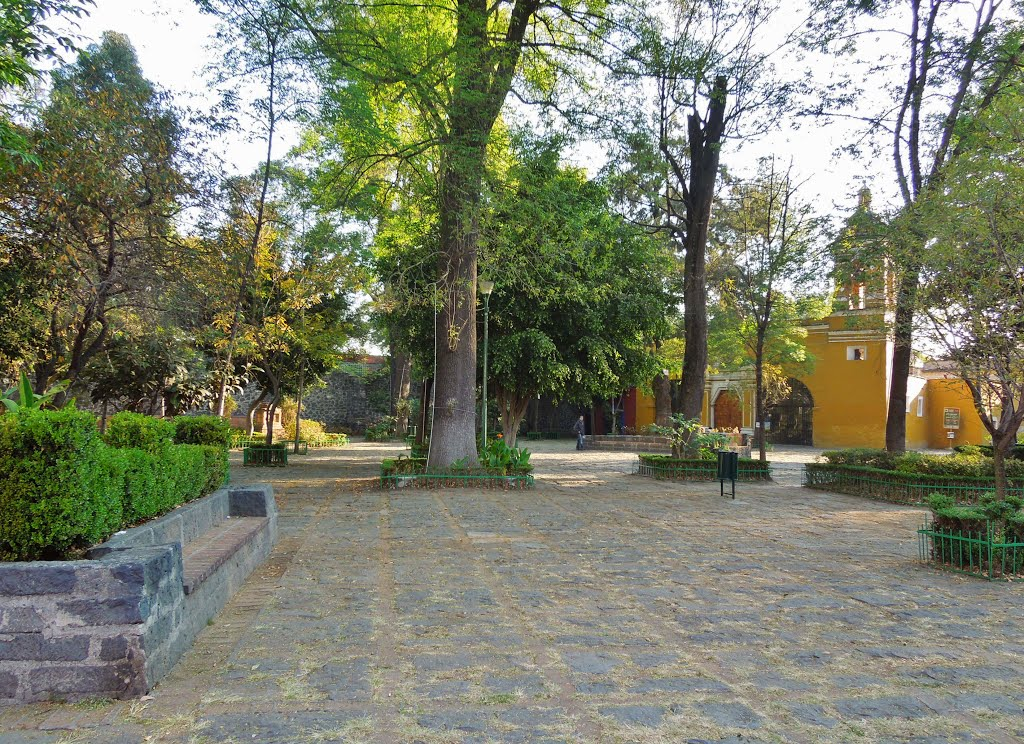 Canals Mexico City, Panoramio - Photo of Plaza Santa Catarina - Quartier de Coyoacan ...