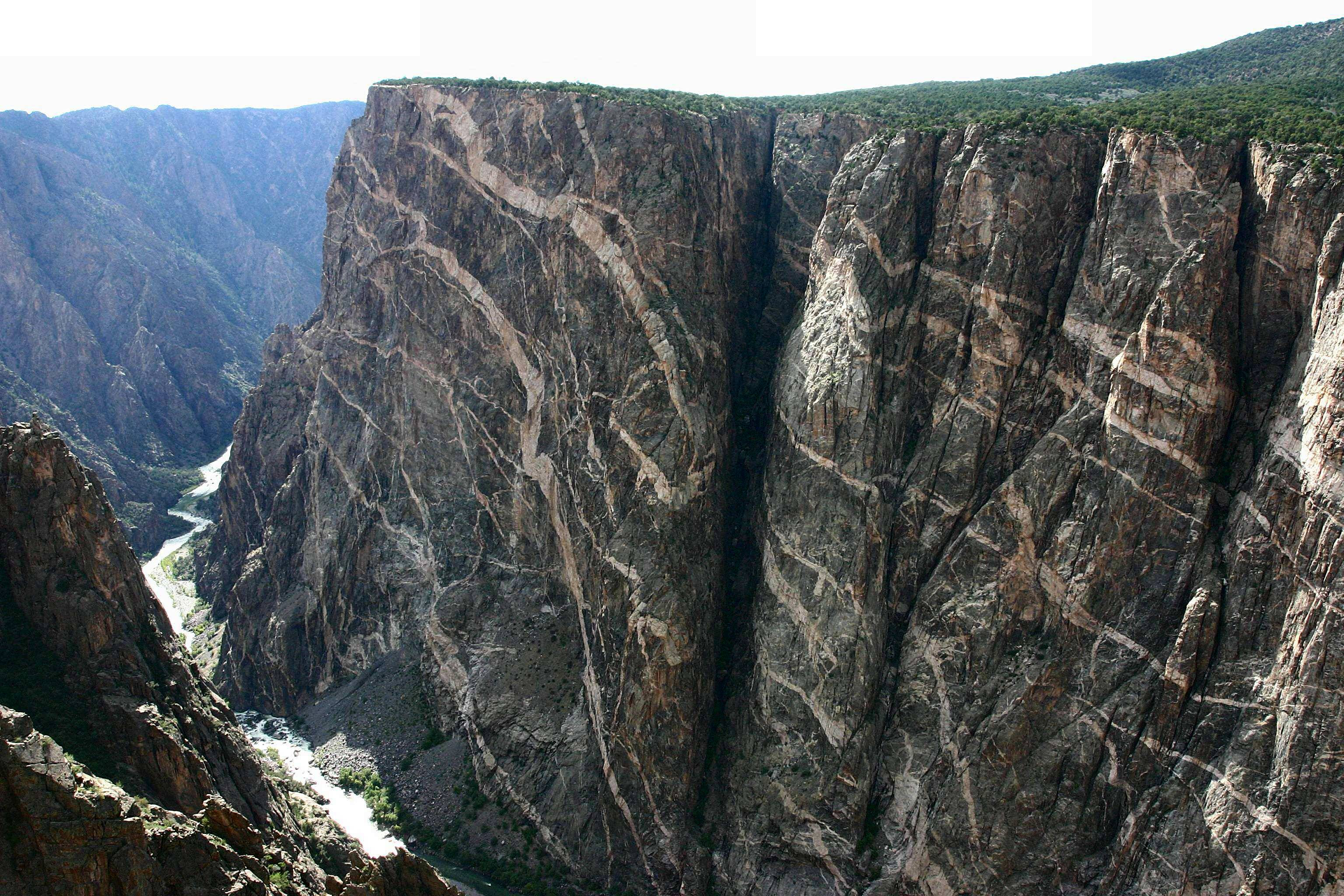 Canyons of the Ancients National Monument Southwest Colorado, They say the bottom only receives 33 minutes of light per day: the ...