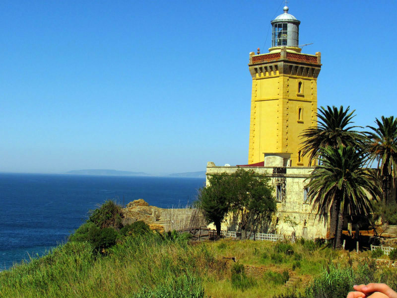 Cap Spartel Lighthouse Tangier and the Mediterranean, Sight seeing