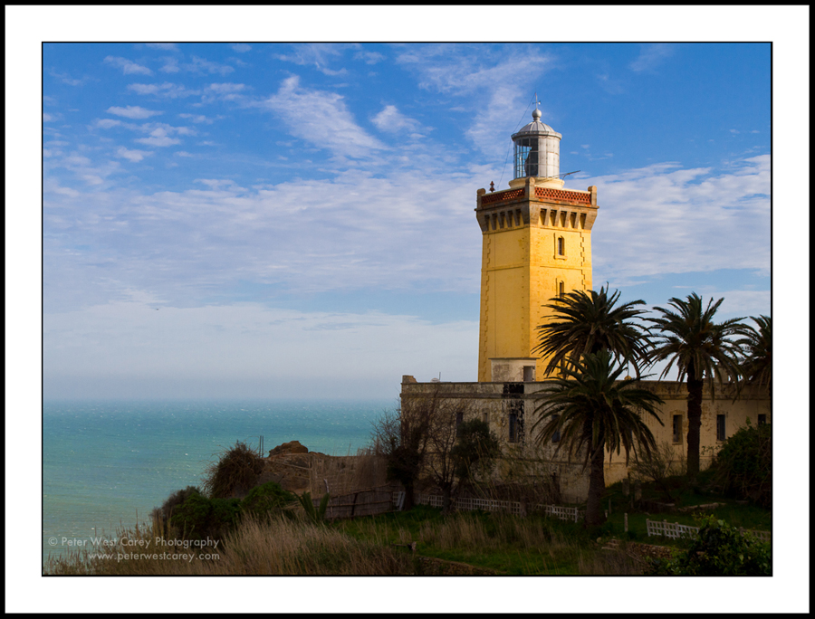 Cap Spartel Lighthouse Tangier and the Mediterranean, Cap Spartel, Tangier, Morocco * Northwest of Tangier, the Cap ...