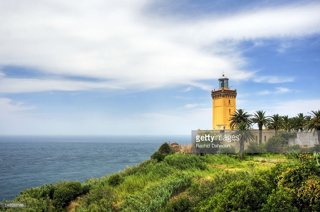 Cap Spartel Lighthouse Tangier and the Mediterranean, The Famous Cap Spartel Lighthouse Sits On The Northwest Tip Of ...
