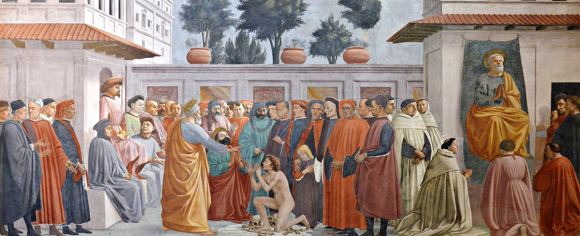 Cappella Brancacci Florence, The Brancacci Chapel: Masaccio in the Cappella Brancacci in Santa ...