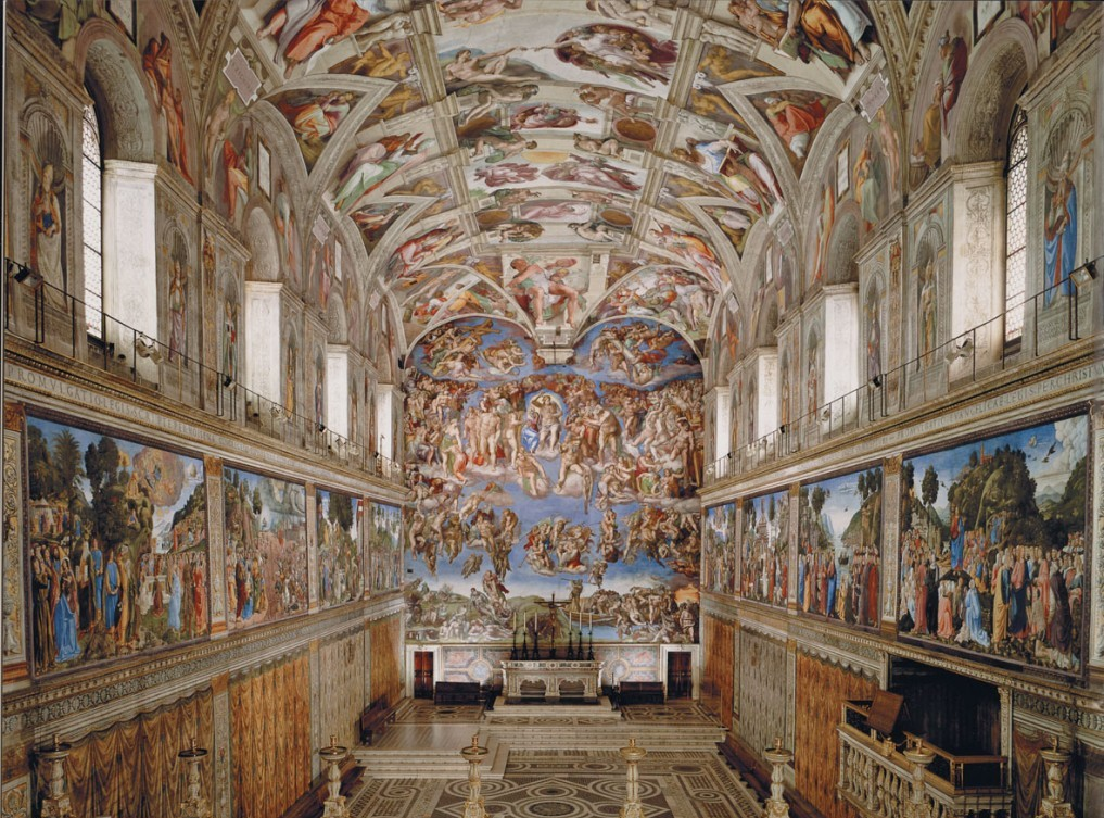 Cappella Sistina Rome, The Most Amazing Rome Churches Masterpieces - A Trip In Italy And ...